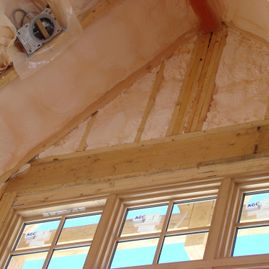 Ceiling Insulation Spray Foam