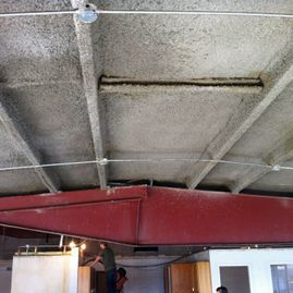 MK6 Fireproofing Ceiling