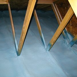 Attic Spray Foam Walltite
